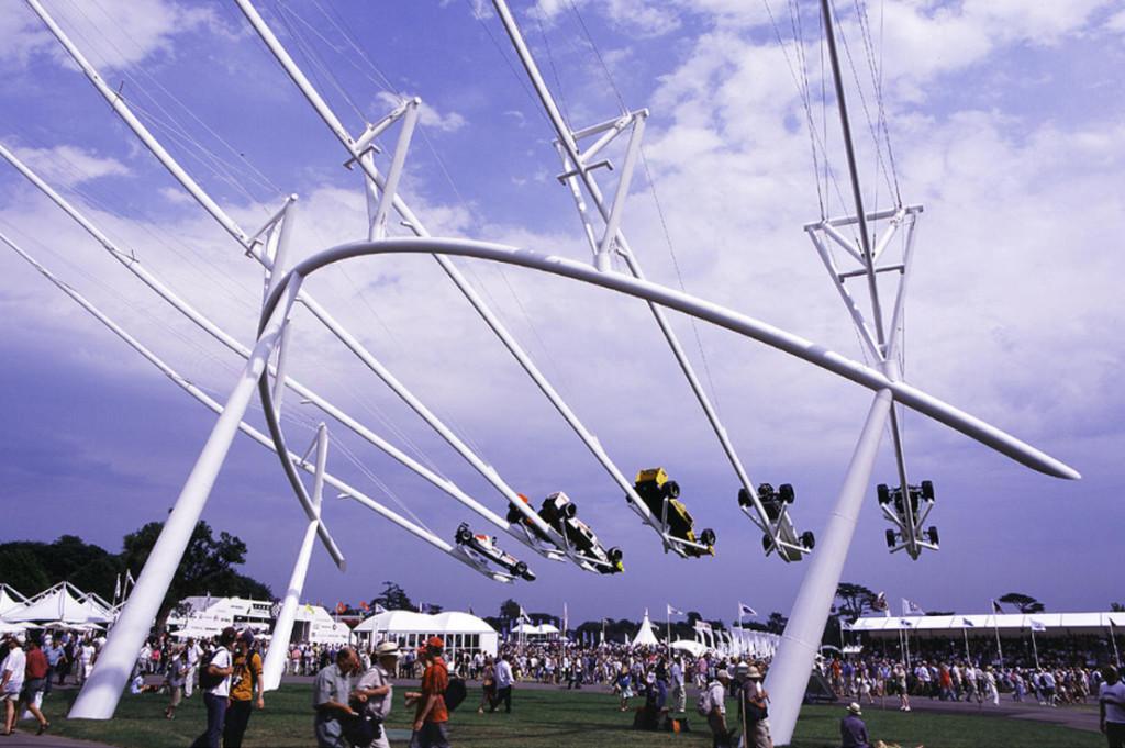 Honda 2005, sculpture Gerry Judah pour le Goodwood Festival of Speed
