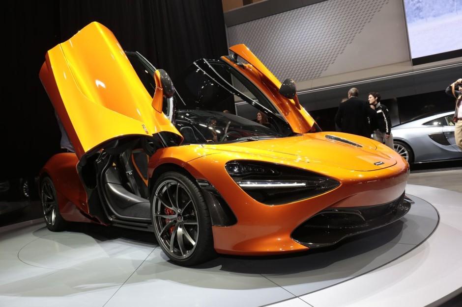 Voiture McLaren 720S