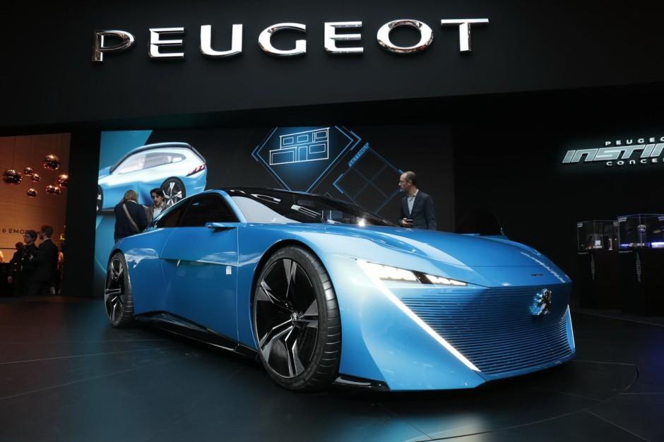 Voiture Peugeot Instinct Concept