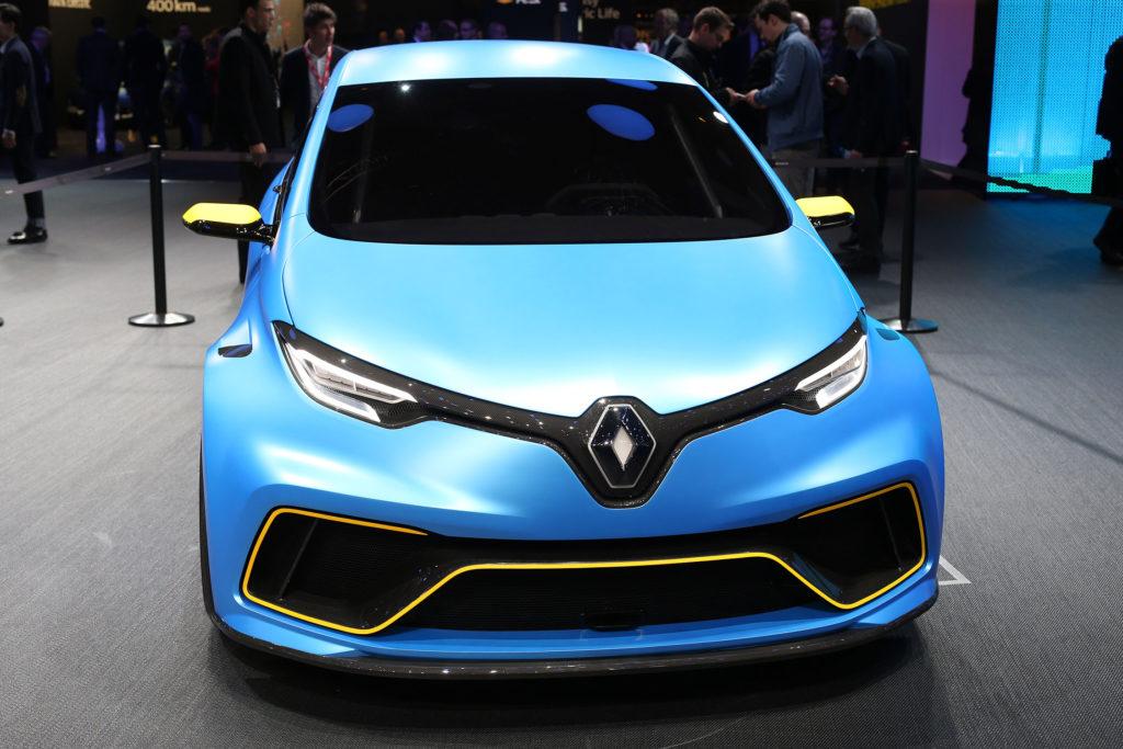 Voiture Renault Zoé Sport Concept