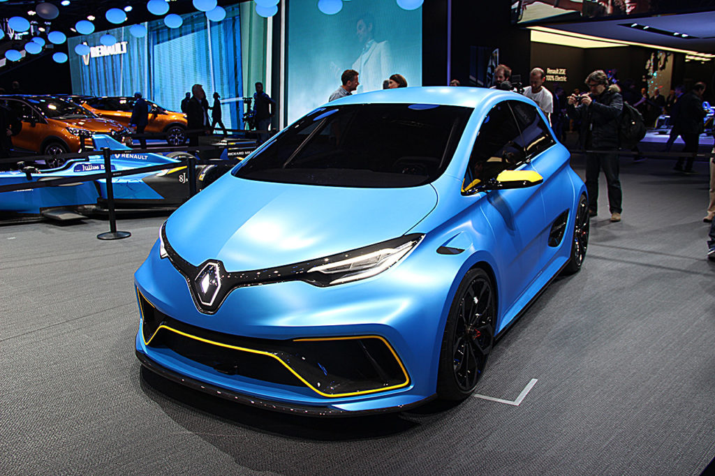 Renault Zoé Sport Concept
