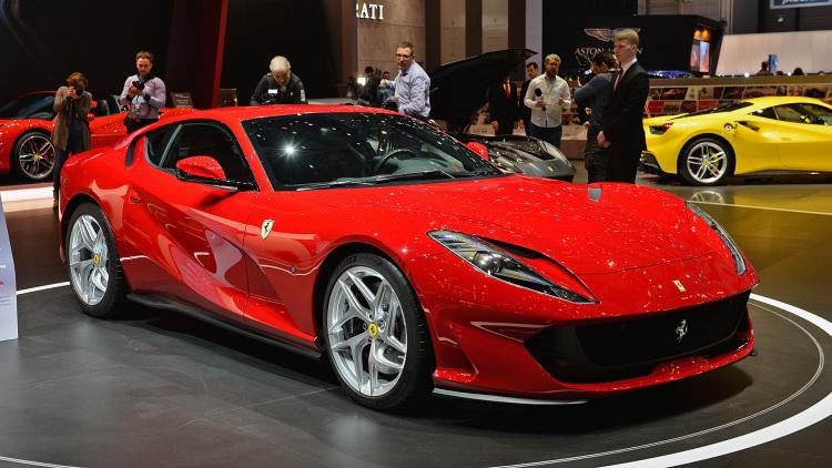 Voiture Ferrari 812 Superfast