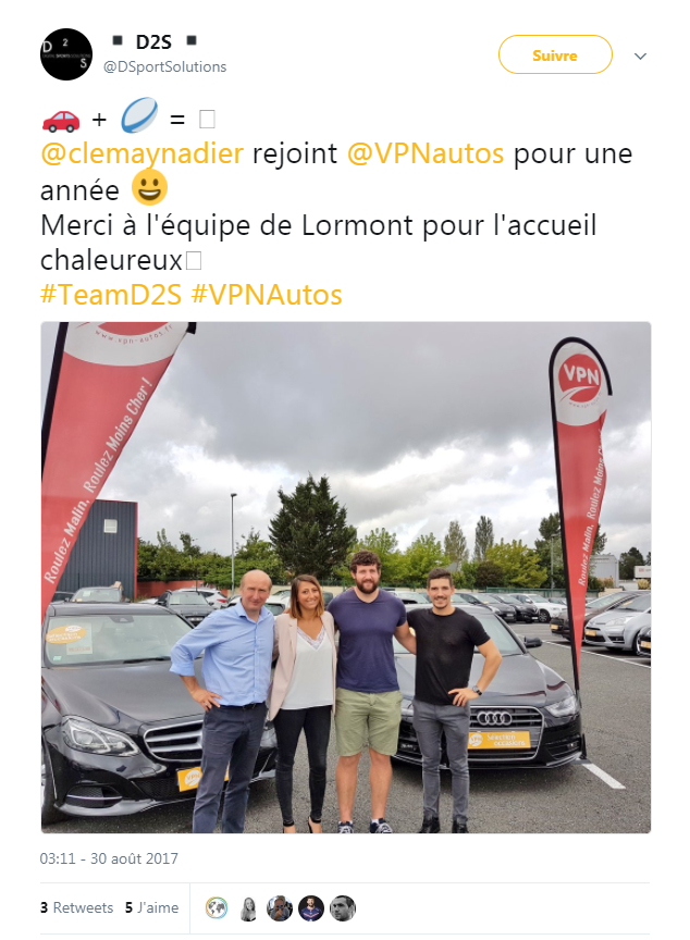 Clemaynadier chez VNP Autos