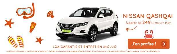 offre août VPN Autos Nissan Quasquai