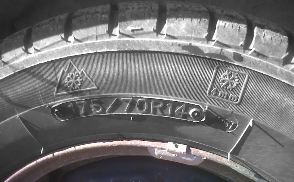 Logo des pneus en hiver