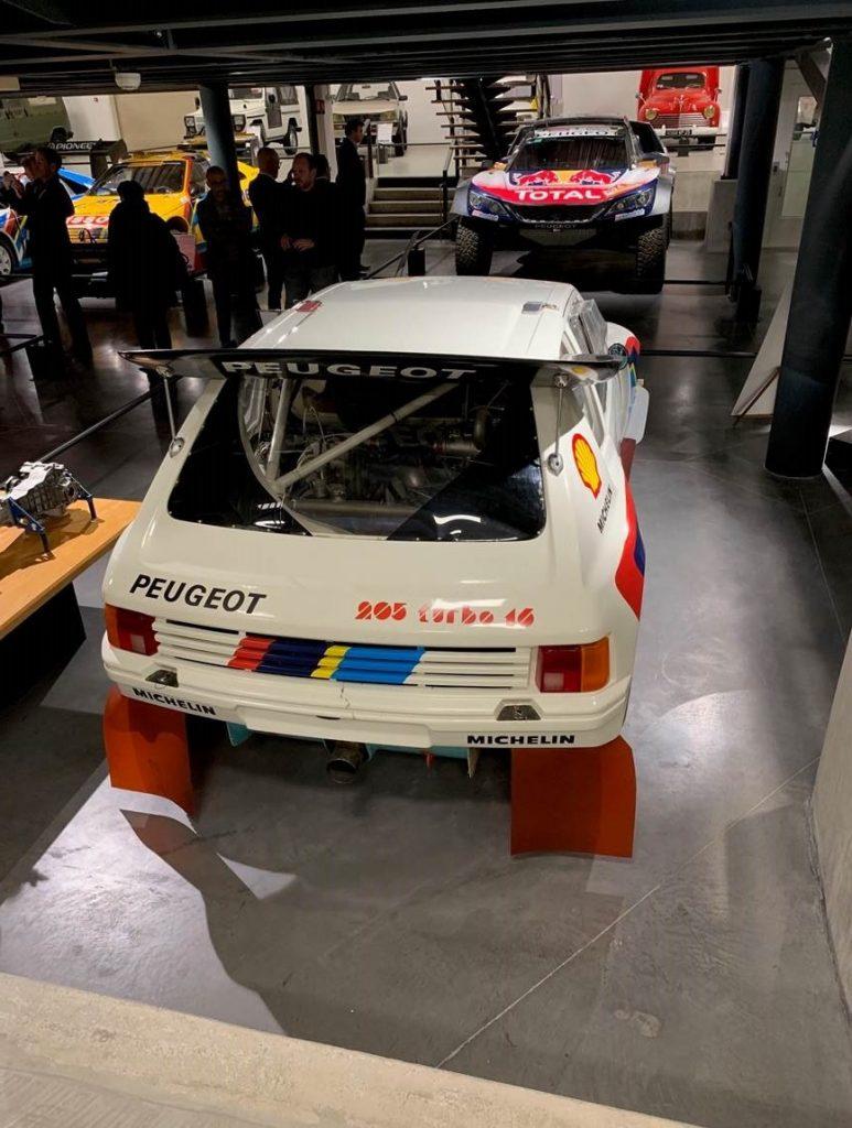Peugeot 205 T16 au Musée de l'Aventure Peugeot