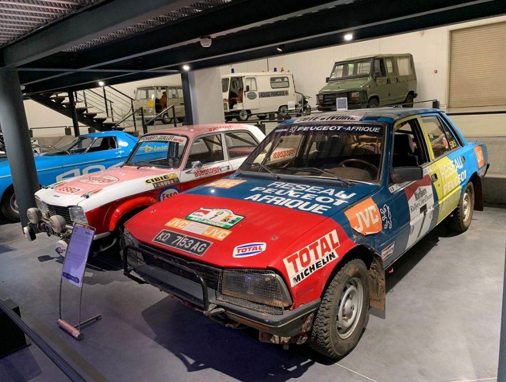 Musée de l'Aventure Peugeot - Photo divers modèles exposés