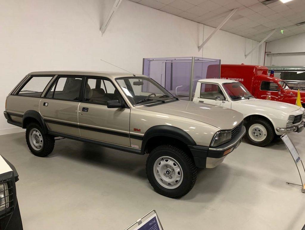 4x4 break Peugeot
