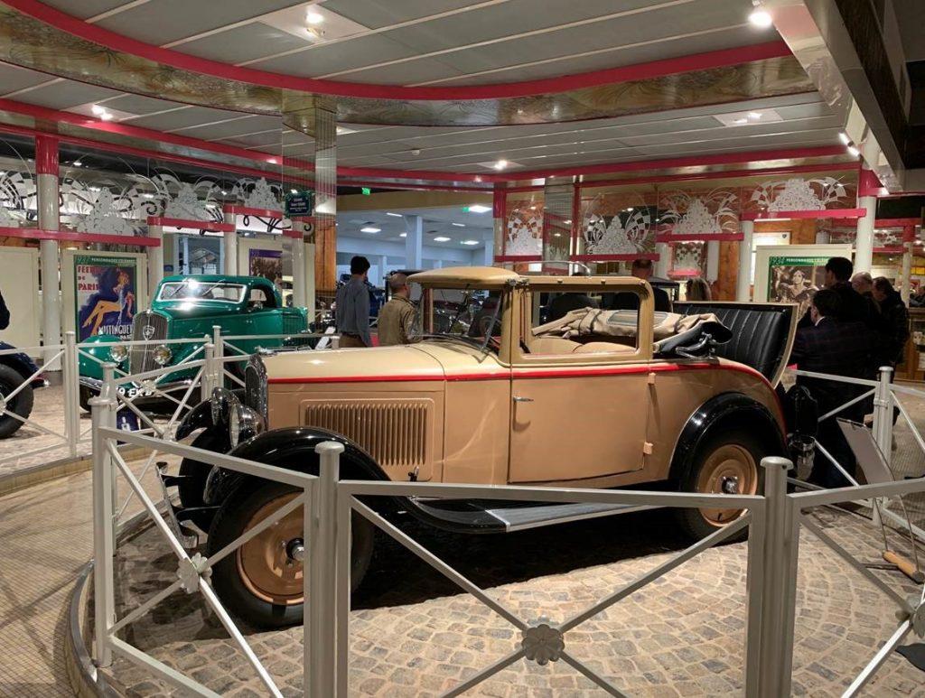 Peugeot ancienne au Musée Peugeot