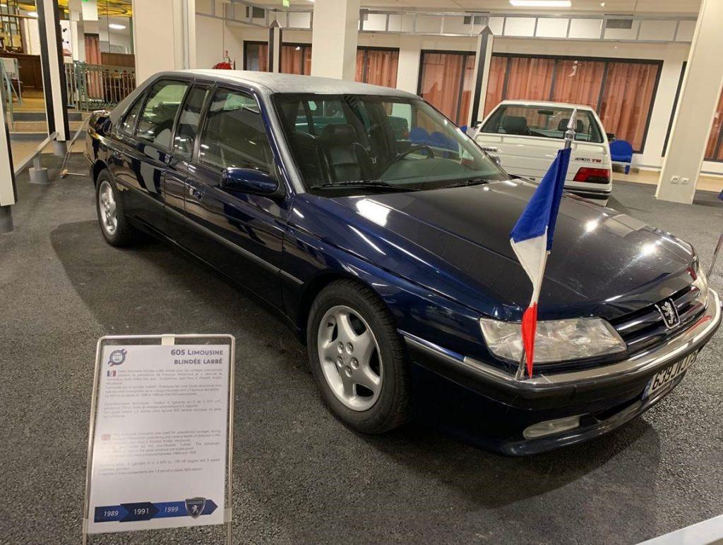 Peugeot 605 Limousine - Musée de l'Aventure Peugeot