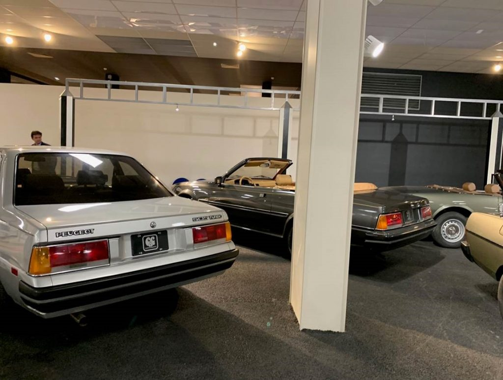 Modèles Peugeot anciens au Musée de l'Aventure Peugeot