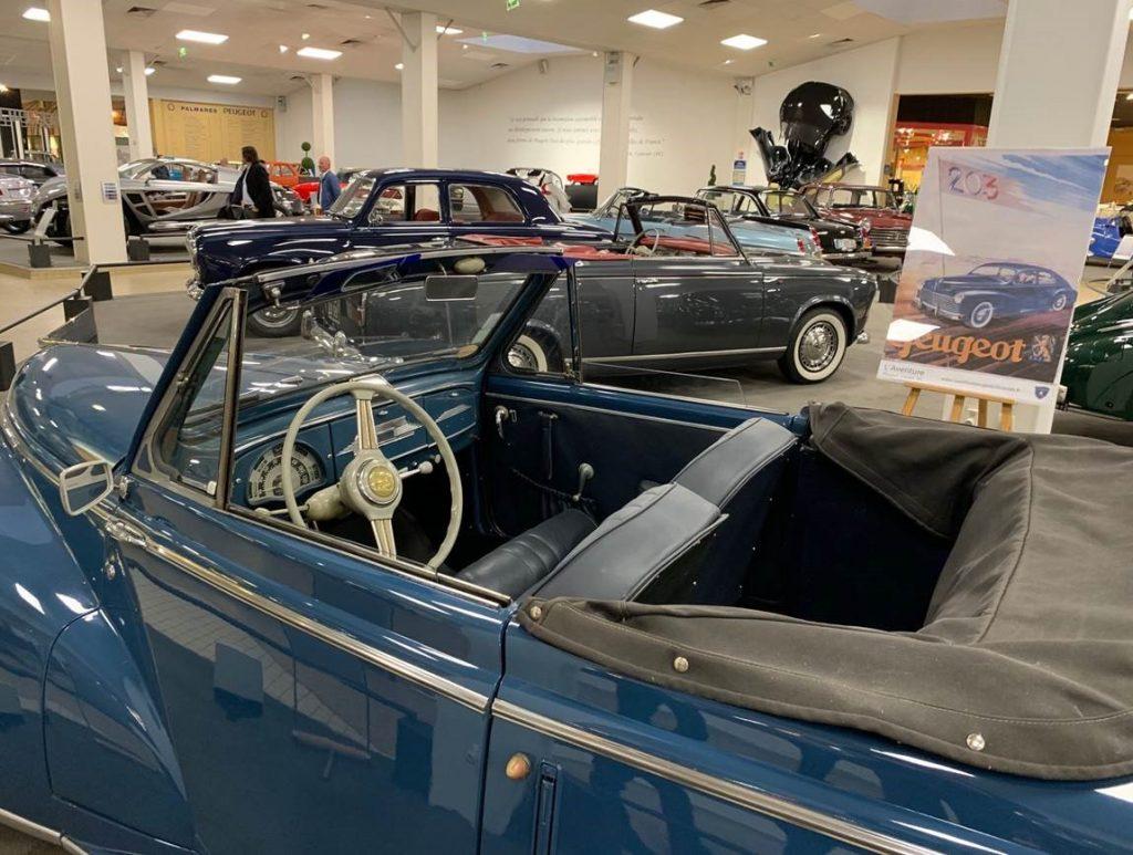 Peugeot ancienne au Musée de l'Aventure Peugeot
