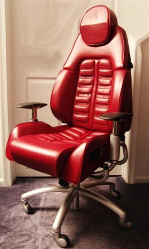 Ferrari, Lanborghini, Bentley, Porsche, Maserati, siège, bureau, luxe,