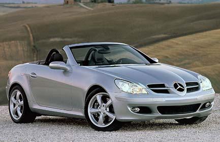 Premier prix: Mercedes Benz SLK