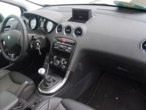Peugeot 308 GTI intérieur