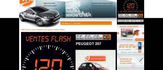 120h Chrono mars 2012 - VPN distributeur automobile multimarques a prix mandataire - Aquitaine, Bordeaux, Toulouse, Agen, Muret et Angers