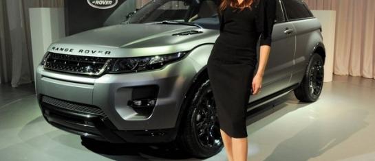 Range Rover Evoque elu voiture feminine de l'année