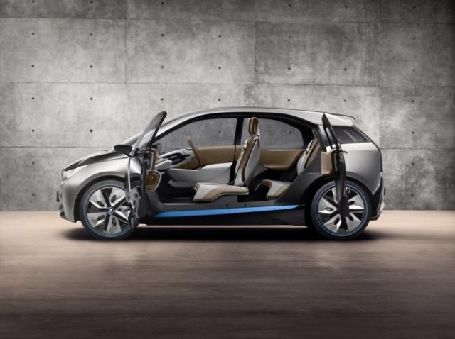 BMW i3 la berline électrique futuriste
