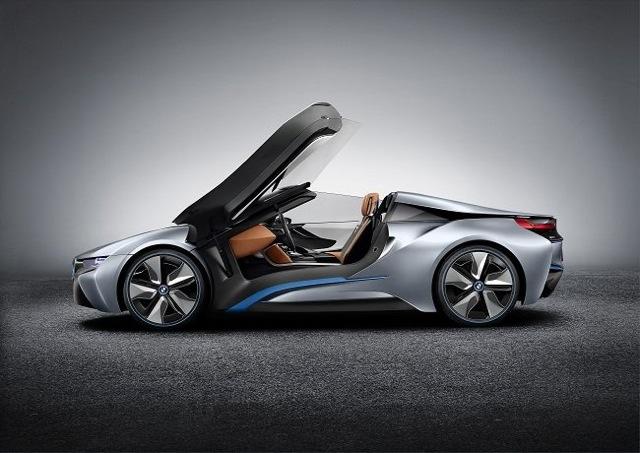 BMW i8, électriquement sportive - vpn autos