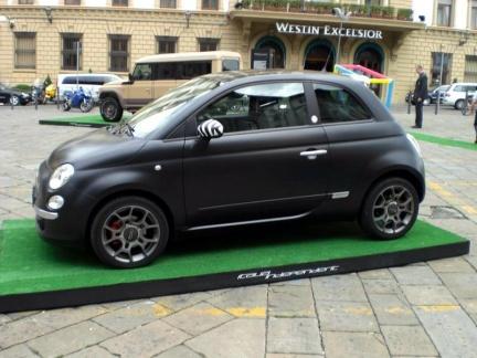 Fiat matt black - VPN Autos - véhicules neufs et occasions récentes