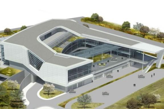 Un circuit privé et un musée au siège de Porsche