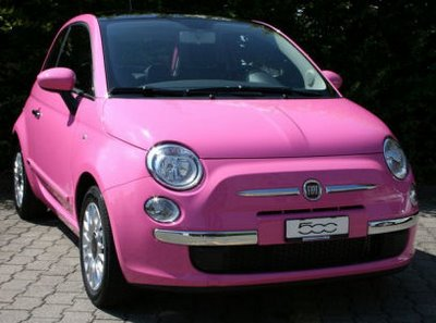 Fiat 500 Pink - VPN Autos centre auto multimarques