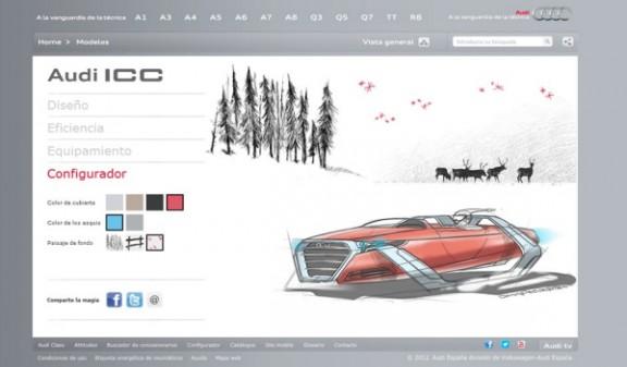 Audi, traineau pere noel - VPN autos