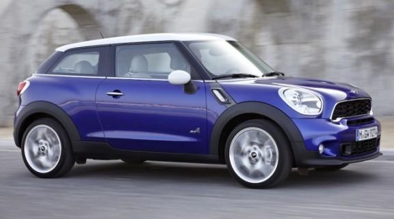 Mini Paceman nominée pour la plus belle voiture de l'année 2012 - VPN centre automobile multimarques à Agen