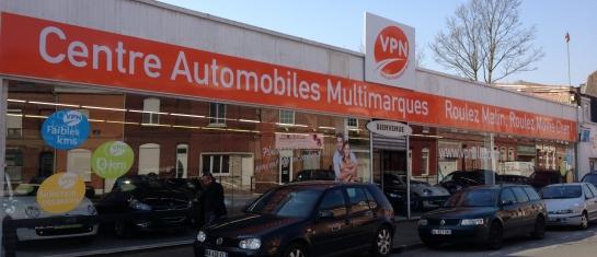 VPN Lille, distributeur automobile multimarques à Tourcoing
