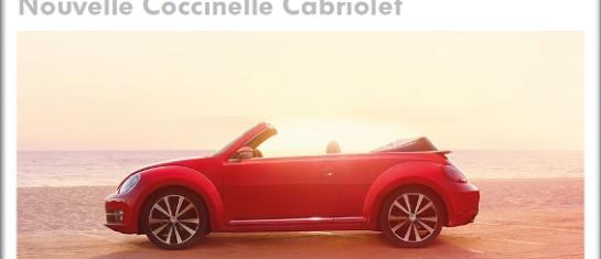 nouvelle volkswagen cabriolet