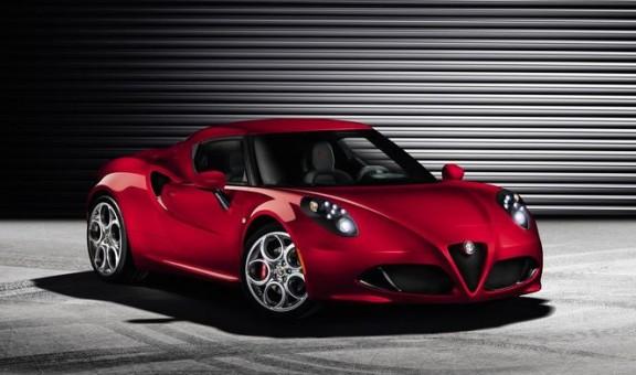 Alfa Romeo 4C de série à genève