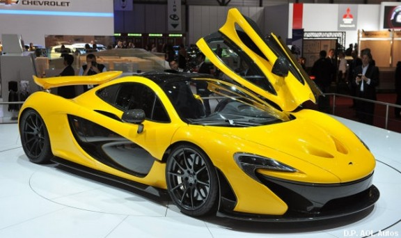 Mc Laren P1au salon automobile de Geneve