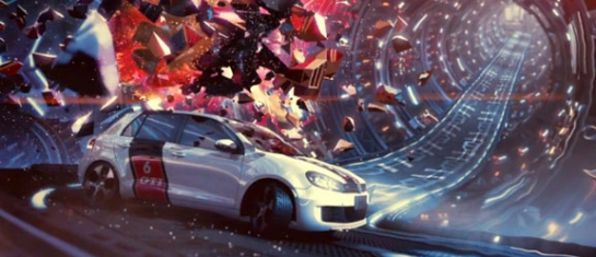 Golf VII GTI 2013, vidéo promotionnelle Out Of World