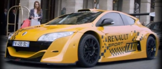 Renault Megane Trophy, un taxi de course à Paris