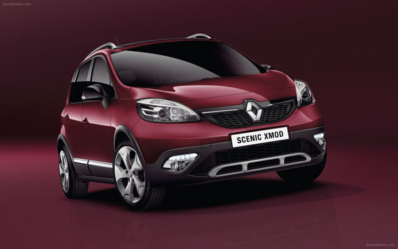 renault scenic x mod le monospace compact inspir du crossover. Black Bedroom Furniture Sets. Home Design Ideas