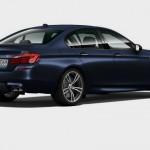 Profil de la BMW M5 2014 sur le configurateur