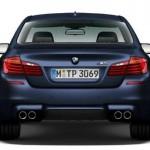 Face arrière de la future BMW M5 2014