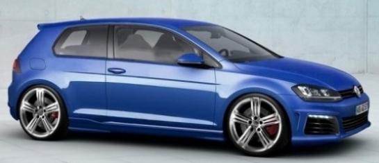 Volkswagen Golf R sera commercialisé en 2014