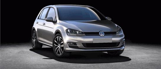 La Volkswagen Golf VII reçoit le prix de voiture de l'année par Diesel Car Magazine