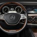 Tableau de bord de la Nouvelle Mercedes Classe S