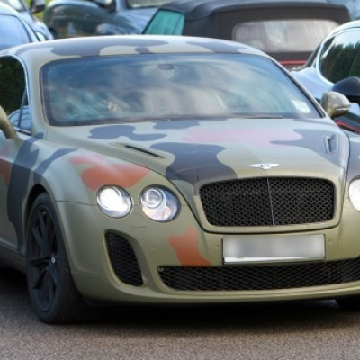 mario balotelli camouflage bentley