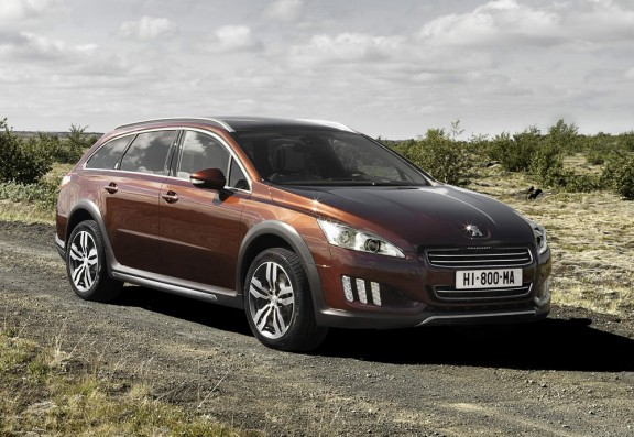 Peugeot 508 RXH, la déclinaison break