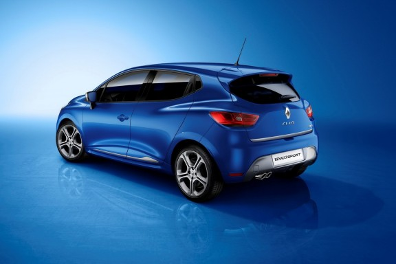 la nouvelle renault clio 4 gt line bleu malte. Black Bedroom Furniture Sets. Home Design Ideas