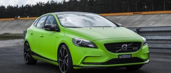 Une couleur verte pour la Nouvelle Volvo