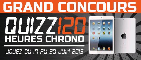 Concours Facebook - Gagnez un iPad Mini