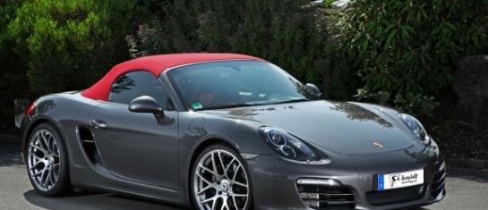 Le tuner Allemand Schmidt Revolution a travaillé sur le Porsche Boxster MK3