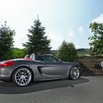 Vue arrière droite du Porsche Boxster par Schmidt Revolution