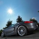 Schmidt Revolution, préparateur allemand, a apporté sa touche de sportivité au Porsche Boxster MK3