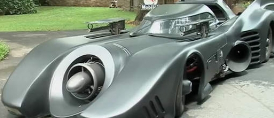 Batmobile reproduction