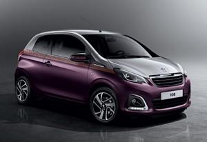 Nouvelle Peugeot 108 Dual (Bicolore)